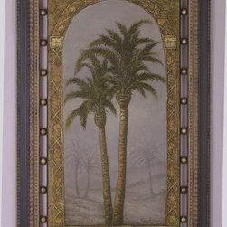 Bassett Mirror - Bassett Mirror Palms I 9500-678AEC - Bassett Mirror Palms I 9500-678AEC
