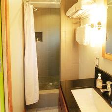 Contemporary Bathroom by Ncompass Construction