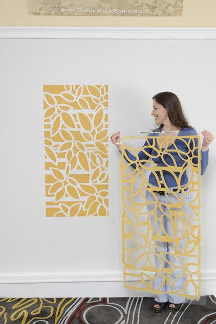 Contemporary  by Janna Makaeva/Cutting Edge Stencils