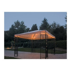 Threshold String Lights, Gazebo - This light set is made specifically for a gazebo, so you don't need to worry about measuring or having enough sets.