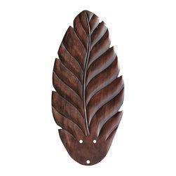 "Emerson - Emerson Y52LDC 21"" Hand Carved Leaf Blades - Compatible with Fans: CF452, CF552, CF901, CF905, CF772, CF776, CF880"
