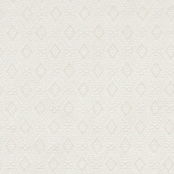 Ivory Connected Diamonds Woven Matelasse Upholstery Grade Fabric By The Yard - This material is great for indoor upholstery applications. This Matelasse is rated heavy duty, and is upholstery weight. It is woven for enhanced appearance.