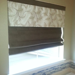 After Roman Shades - A Creative Touch Draperies & Interiors