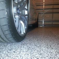 Contemporary Laminate Flooring by Garage Design Works