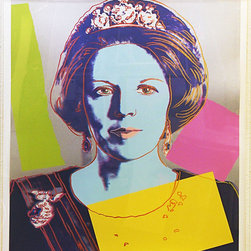 Hand Signed Queen Beatrix FS II.340 By Andy Warhol Popart Pop Art - ANDY WARHOL RARE FABULOUS BEAUTIFUL SCREENPRINT ON LENOX MUSEUM BOARD.  Hand signed and numbered in pencil. Printer Rupert Jasen Smith, New York. Publisher George C.P. Mulder, Amsterdam, The Netherlands. Artwork is in excellent condition.