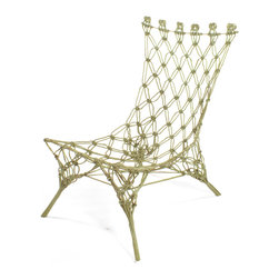 Cappellini Knotted Chair by Marcel Wanders -