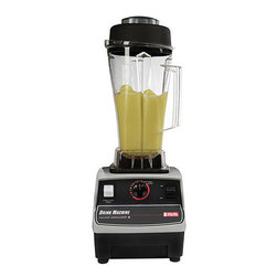 VitaMix - Vita-Mix 2-step Timer 64-oz Drink Machine - Blender features unbreakable polycarbonate container Vita-Mix Drink Machine has automatic timer that starts in low and then kicks into high for a smooth finish Blender shuts off automatically