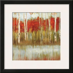 Artcom - The Edge II by Allison Pearce - The Edge II by Allison Pearce is a Framed Art Print set with a SOHO Thin wood frame and a Polar White mat.