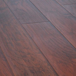 Lamton - Lamton Laminate - 12mm Wide Board Collection - [21.3 sq ft/box] - Hickory Nirwana -  Lamton brings you top-quality, AC3-rated, CARB-ATCM - Phase 1 compliant, HDF-core laminate flooring. This line of Lamton 12mm comes with a textured surface that replicates a hardwood appearance.     Lamton panels feature the easy-install click-lock locking system which are effortlessly installed without gluing and can be installed over radiant heat; on, above or below ground. This immaculate laminate flooring is produced to reflect an exact replica of wide plank hardwood flooring. This 12mm laminate is safe to install over radiant heat and comes with a 25 year warranty. Combine these features with an exceptionally low price point, and it is clear that Lamton Laminate is an economical choice that doesn't compromise quality.
