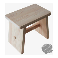 Japanese Wooden Bath Stool