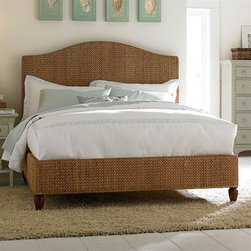 Ashby Park - This woven banana-leaf bed is versatile enough to suit many bedroom styles thanks to its simple design and neutral color.