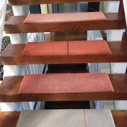 Unique Custom Stair runner -