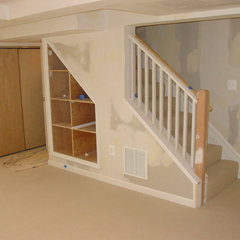 traditional basement by Cook Bros Design Build Remodeling