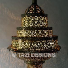 mediterranean chandeliers by Tazi Designs