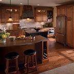 Maple Kitchen Cabinets - Schrock Cabinetry -