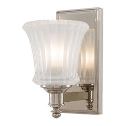 Minka Lavery - Minka Lavery 6681-613 Hayvenhurst Bathroom Light In Polished Nickel - Manufacturer: Minka Lavery