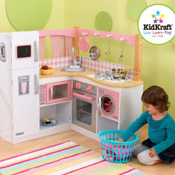KidKraft - Grand Gourmet Corner Kitchen - Grand Gourmet Corner Kitchen