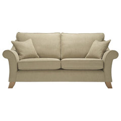 Jasper medium-sofa in Camelia Taupe - Sofa Workshop