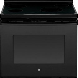 """GE - JB630DFBB 30"""" Free-Standing Electric Range With 5.3 Cu. Ft. Oven Capacity  Ceram - This item is for a 30 Free-Standing Electric Range This range features 53 cu ft oven capacity which is enough room to cook an entire meal at once 69 power boil element which produces rapid powerful heat ceramic glass cooktop which easily wipes clean ..."""