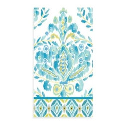Dena Home - Dena Home Breeze 3-Ply Paper Guest Towels (Pack of 16) - Add a touch of color to your dining table or powder room with these bright, cheery guest towels. Each package of 16 contains facial quality, soft and strong, 3-ply towels.