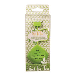 Streamline - Spot For Tea Infuser - Add your blend of loose leaf teas, fresh herbs and healing flowers to this food safe silicone tea bag pouch. Stain resistant; Dishwasher safe.