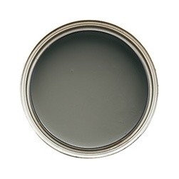 Cliffside Gray - The ceiling of the room is painted with Benjamin Moore's Cliffside Gray, cut with 75-percent white. This is an idea you could easily use in your own home.