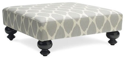 ottomans and cubes by West Elm