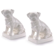 Eclectic Bookends by Black Rooster Decor