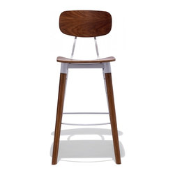 Public Bar Stool White The Public Bar Stool Is