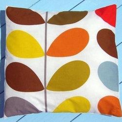Orla Kiely Cushion Pillow Cover Handmade In Multi by HandmadeOrla -