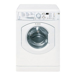 """Ariston - ARWDF 129 NA 23.4"""" Washer-Dryer Combo with Electronic Display  1200 RPM Spin Spe - The Ariston laundry collection packs Energy Star efficiency into a space-saving compact frame making their machines practical and beneficial for any home This Ariston washerdryer combo ARWDF129NA boasting up to 15 lbs washing and 12 lbs drying capaci..."""