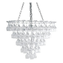 Leitmotiv Vino Wine Glass Chandelier Extra Large