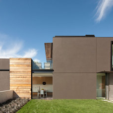 Contemporary Exterior by Dovetail General Contractors