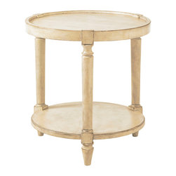 Lexington - Lexington Twilight Bay Phoebe Lamp Table 352-950 - Treasures are often found in the unexpected. The three legged tray top lamp table keeps items from falling over the edge and the lower shelf equally appreciated for a focal display or stack of favorite books.