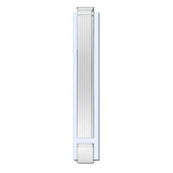 """Inviting Home - Adjustable Fluted Pilaster - adjustable fluted pilasters with backboard and separate plinth block (E999) up to 9'00""""H x 9""""W x 2-1/2""""D Pillaster are designed for exterior or interior appliacation. Outstanding quality and durability fluted pilaster for door trim made from high density polyurethane factory primed white. Pilaster's are lightweight durable and easy to install using common woodworking tools. Pilasters can be finished with any quality paints."""