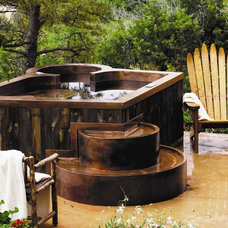 Traditional Swimming Pools And Spas by Diamond Spas