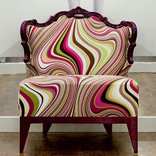 eclectic armchairs by Imagine Living
