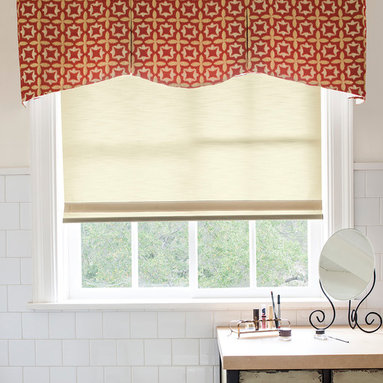Smith & Noble Classic Roller Shades - Rod Mounted Valances are a perfect addition to any room. Rod mounted valances are great as a stand alone window treatment or layered over blinds or shades. Perfect for every room where families congregate— from kitchens to kid's rooms, dens to DIY movie theaters—our popular roller shades are made for real life! Effortlessly stylish and practical at the same time, they work great while achieving just the look you're going for. Roller Shades are shipped in 5 business days. Starting at $87