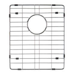 Ukinox - Ukinox GRS426SS Stainless Steel Bottom Grid - Extend the life of your sink with Ukinox's custom fit stainless steel sink grid. Sleek and durable, this grid is designed for high volume residential kitchen usage. Features: Protects the bottom of your sink from scratches. Makes sink easier to clean. Great for drying glasses. Great for rinsing vegetables. Great for thawing meats.  Specifications: Total Product Length: 17 in. Total Product Width: 16 in. Total Product Thickness: 1 in. Product Weight: 2 lbs. Material: Stainless Steel.