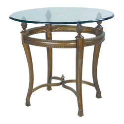 "Hammary - Hammary Suffolk Bay End Table - The best ideas in designs from around the world - combined with the finest materials available - meet in this new collection to create an unforgettable look for your home. ""Suffolk Bay"" was inspired by the stately plantations of 19th century British west indies, a colonial period that married the furniture styles of Georgian England with the materials of island living. The result: style mixed with durability. Crafted from Honduras pine and finished in a clear antique tone, select items feature padded leather and woven veneer inserts. The hardware is crafted from the finest antique brass, adding a note of authenticity. Most items are highlighted with a carved pineapple motif or diagonal basket weave panels. Whether you live on a south pacific island, a southern plantation, or in a neighborhood with the joneses, ""Suffolk Bay"" from Hammary promises to add class and unsurpassed style to your decor."