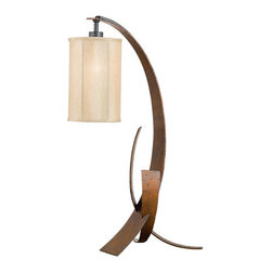 Varaluz - Aizen 1 Light Table Lamps in Hammered Ore W/ Aspen Bronze Accents - This 1 light Table Lamp from the Aizen collection by Varaluz will enhance your home with a perfect mix of form and function. The features include a Hammered Ore w/ Aspen Bronze Accents finish applied by experts. This item qualifies for free shipping! Wattage:100, Lamp Type:Medium Base, Bulbs:1