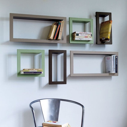 Contemporary Display And Wall Shelves  by Graham and Green