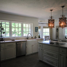 Eclectic Kitchen by Girl Meets Lake