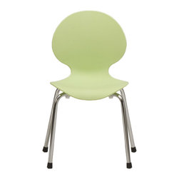 Eurostyle - Ital Modern Bunny-PP Junior Chair in Pistachio [Set of 4] - Junior Chair in Pistachio belongs to Bunny-PP Collection by Eurostyle Great style is no stranger to Italian children. No wonder the designers scaled down the popular Bunny Chair for the smaller people who animate our lives with joy. After all, doesn��_�t everyone deserve this kind of classic comfort? Side Chair (4)