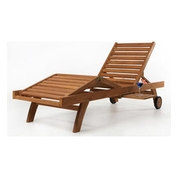 All Things Cedar - Teak Chaise Lounge - Our egronomically designed multi-position Chaise Lounge is made from solid Teak using mortise and tennon joinery. Item is made to order.