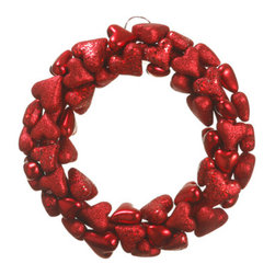 Silk Plants Direct - Silk Plants Direct Heart Wreath (Pack of 4) - Pack of 4. Silk Plants Direct specializes in manufacturing, design and supply of the most life-like, premium quality artificial plants, trees, flowers, arrangements, topiaries and containers for home, office and commercial use. Our Heart Wreath includes the following: