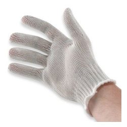 Harold Import Co., Inc. - Mesh Small Cutting Glove - Mesh cutting glove can be used by the everyday chef as well as fishermen, hunters and handymen. Glove is cut-resistant so it's the ideal mate when using a knife.