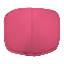 Zuo Modern - Zuo Baby Wire Cushion in Pink [Set of 2] - Cushion in Pink belongs to Baby Wire Collection by Zuo Modern Baby Wire children's chair suits every living space where children play. Made out of chrome steel for the base and flexible, high-resilient polyurethane as a cushion. Cushion (2)