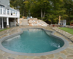 Backyard Oasis for Colonial Style Home - Andrew Almeida