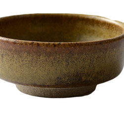 Fateday - Earthenware Clay Flat Tea Bowl - This small handmade earthenware clay bowl-shaped cup is made of all-natural clay materials. The cup has a flat design and can be used to hold soup, tea, and coffee.